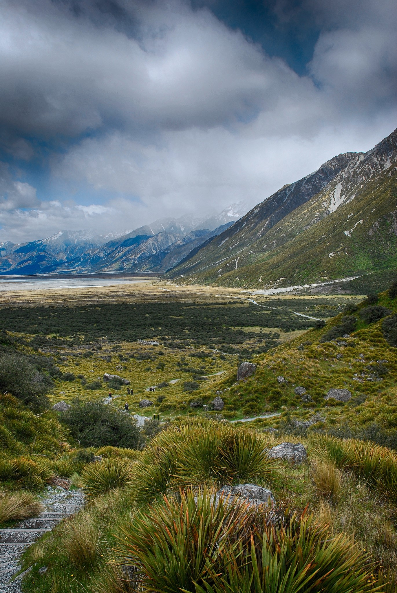 Aorak or Mt Cook National Park