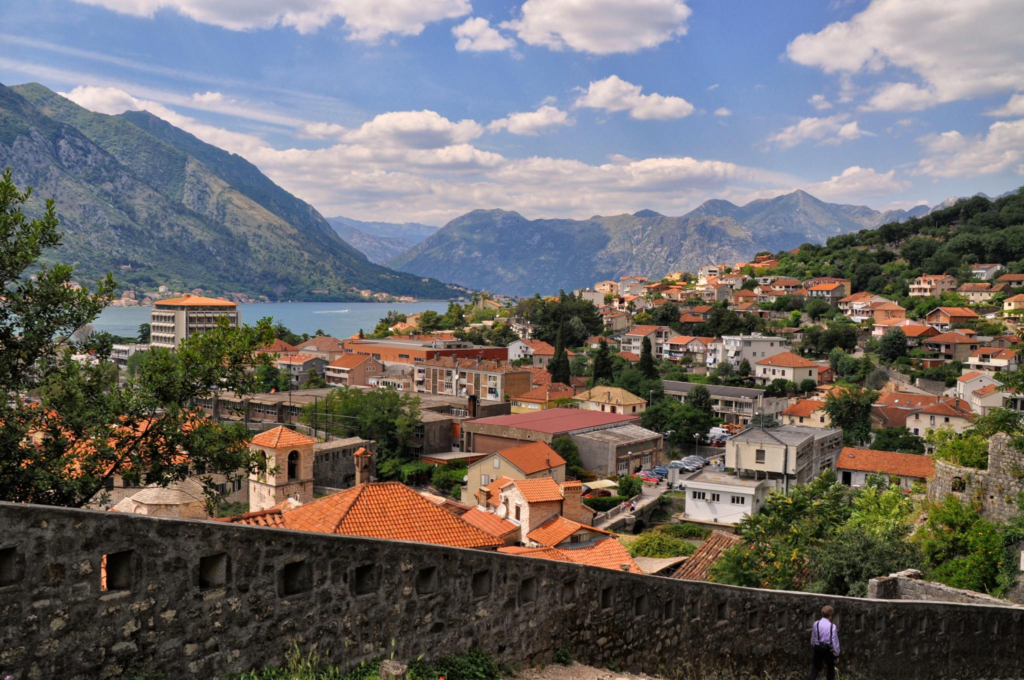 Kotor town in Montenegro