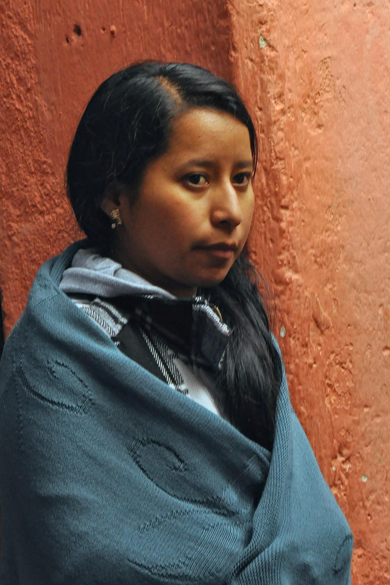Beautiful Guatemalan girl