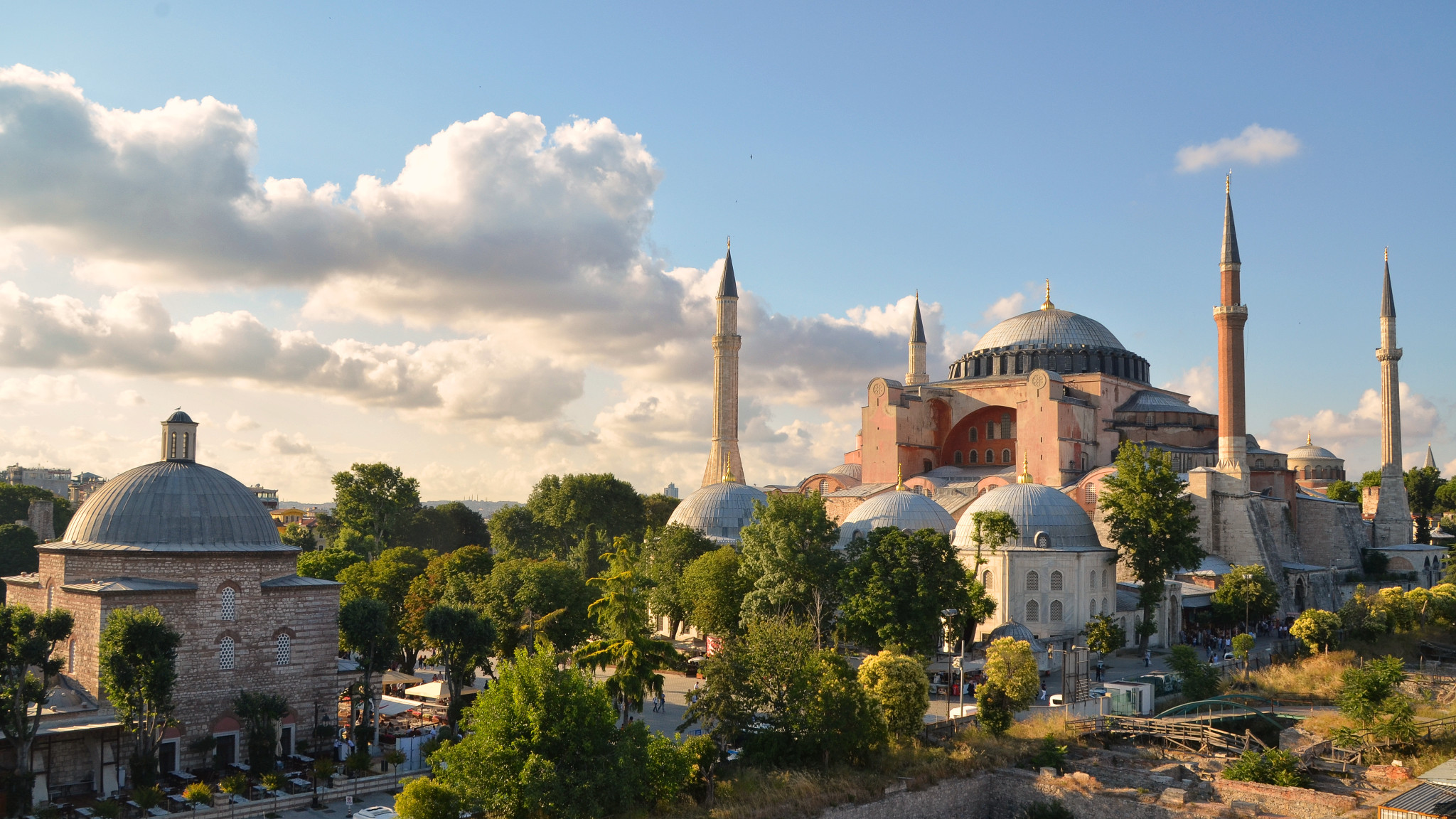 Hagia Sophia and Hamam in Istanbul, Turkey
