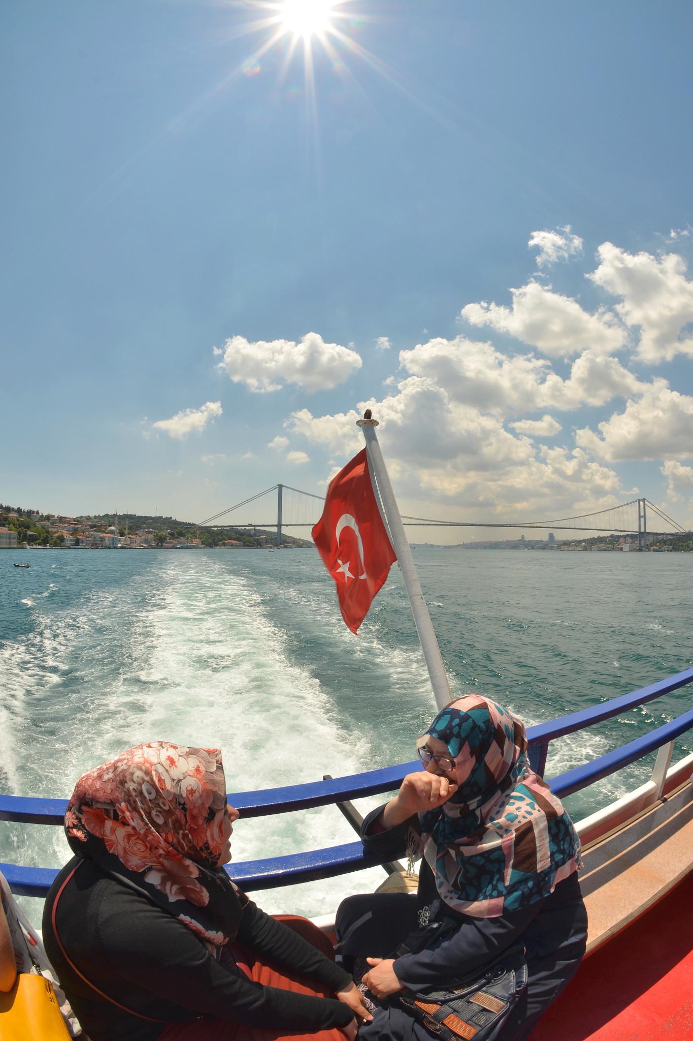 Bosphorus cruise in Istanbul